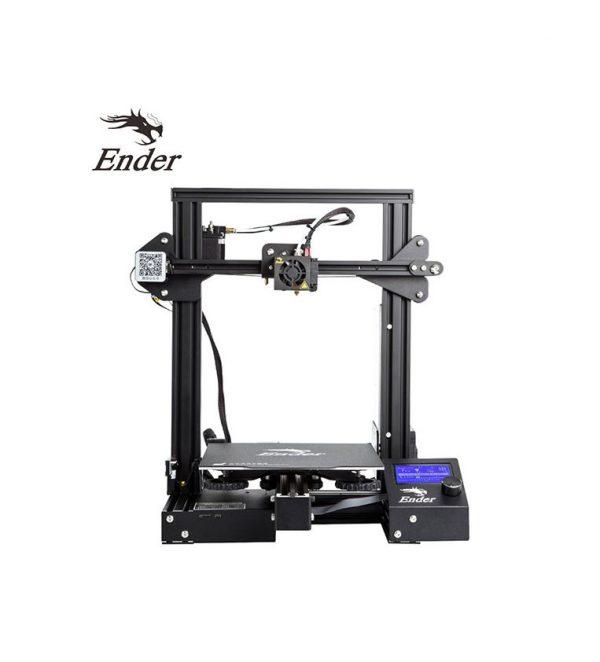 impresora 3d ender 3 pro marca creality en kit para ensamblar