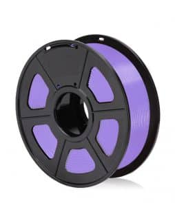 filamento pla purple morado para impresora 3d fff