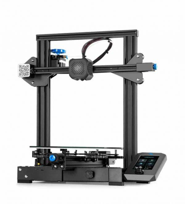 creality ender 3 perspectiva lateral impresora 3d